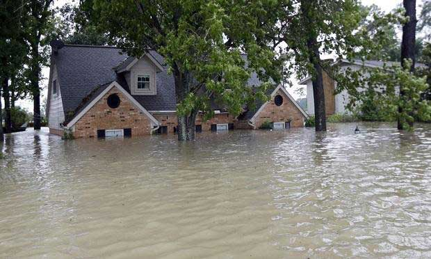 Home in Flood
